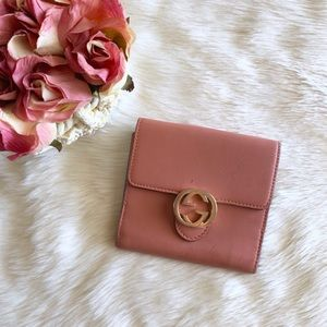 Gucci Icon Leather French Flap Wallet